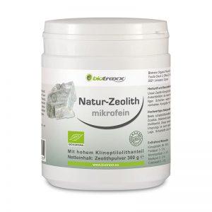 Biotraxx Natur-Zeolith microfein, 300g Füllmenge mit 500ml Volumen