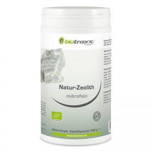 Natur-Zeolith microfein, 600g Füllmenge mit 1000ml Volumen in Vorteilsdose