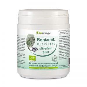 Bentonit aktviert ultrafein plus, 200g Dose – Füllmenge 600 ml