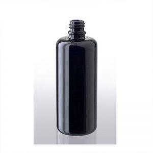 100 ml Violettglas-Flasche, miron – ohne Verschluss