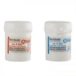 TwinOxide zur Herstellung 1 Liter 0,3% Chlordioxid Lösung (CDL)