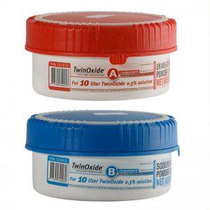 TwinOxide zur Herstellung 10 Liter 0,3% Chlordioxid Lösung (CDL)