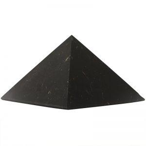 Schungit Pyramide XL: 15×15 cm, Shungit aus Rußland
