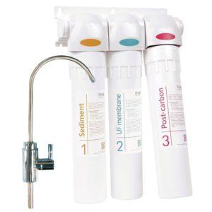 Natures Spring 3-Stufen Trinkwasser-Filtersystem 1THE zur Untertischmontage